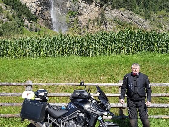 2020 - Alte Säcke Jahrestour - Zufahrt zum Kaunertaler Gletscher