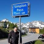 Simplon-Passhöhe