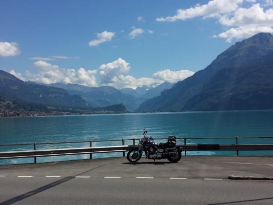 Lago Maggiore Tour 2015 - hier am Brienzer See