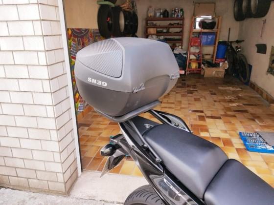 Honda CBF 1000 F mit Topcase SHAD 39