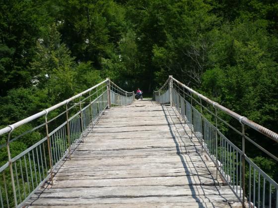 Brückenüberquerung