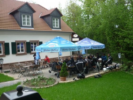 Mühlencafé in Gräfintal ist ne Pause wert-dort findet übrigens der Mai Stammtisch statt