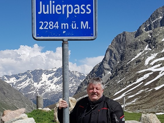 Julier-Passhöhe