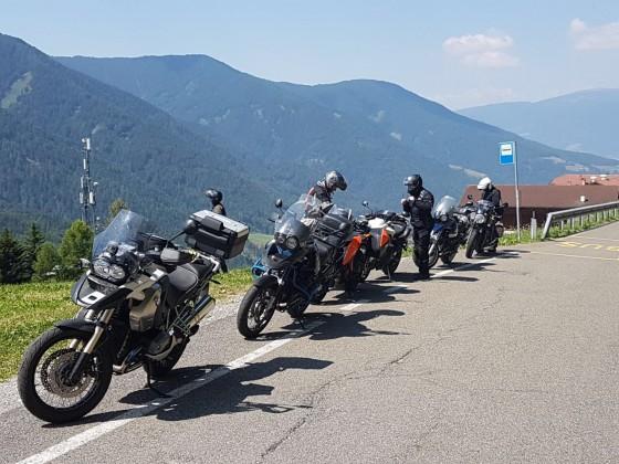 Mit Freunden in den Alpen / Dolomiten