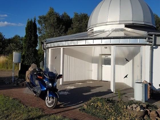 Pause auf der Sternwarte Peterberg