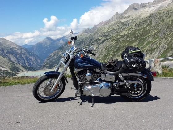 Lago Maggiore Tour 2015 - hier am Grimsel-Pass